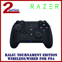 RAZER RAIJU TOURNAMENT EDITION WIRELESS/WIRED CONTROLLER FOR PS4
