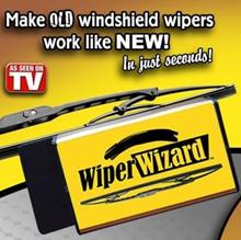 ★AS SEEN ON TV★ Wiper Wizard Car Van Windshield Wiper Blade Restorer Cleaner Brand New in Box