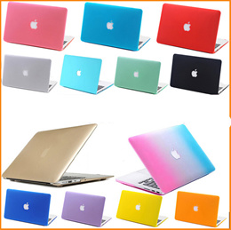 Crystal Hard Cover Case with Rubber Feets for Appple Macbook Air 11 13 inch/Pro 13 15 inch/Pro with Retina Display 13 15 inch High Quality Ultra thin Factory Direct