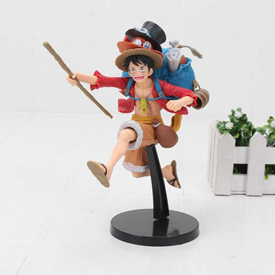 Anime Action Figure Scultures Big Champion 2014 Special Gear Fourth Monkey D Luffy Pvc 17cm Kids Lovely One Piece Doll Brand New Toys & Hobbies