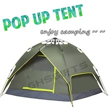 BRAND NEW POP UP TENT ✮ AUTOMATIC OPEN TENT ✮ CAMPING TENT ✮ TENT ✮ SLEEPING BAG / GROUND SHEET / CAMPING / EASY CARRY