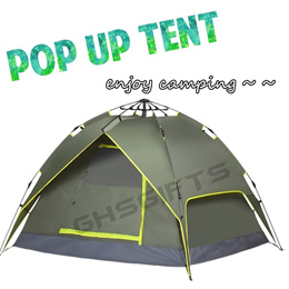 BRAND NEW POP UP TENT ✮ AUTOMATIC OPEN TENT ✮ CAMPING TENT ✮ SLEEPING BAG / GROUND SHEET