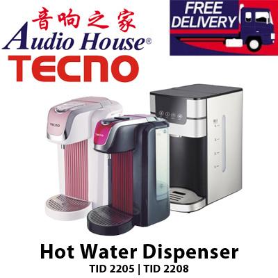 tecno hot water dispenser tid whitepink blackrose