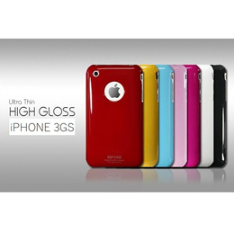 iPhone 3 3GS Slim Hard Back Shell Case 0.3mm