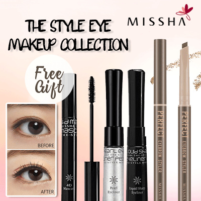 [MISSHA] The Style Eye Make up Deals for only Rp54.000 instead of Rp54.000