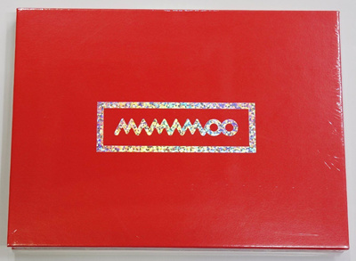 MAMAMOO - Hello (1st Mini Album) [Red Version] CD+Photo Booklet