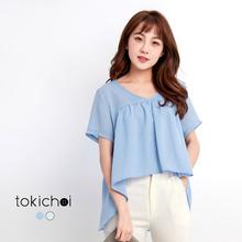 TOKICHOI - Baby-Doll Chiffon Top-170893