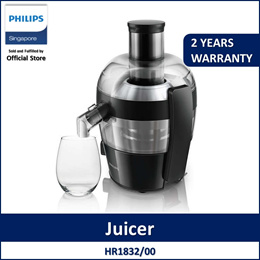 Philips HR1832/00 Viva Collection Juicer / 500W / QuickClean /1.5 Litre Drip stop