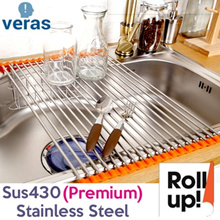 ★Excellent space-saver 6/12/18/24ROLL Sink Roll Stainless steel High quality silicone big size