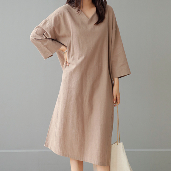 ビナインピドゥインブイワンピース 綿ワンピース/ 韓国ファッション