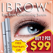 Buy 2 PCS For $99 ★ FREE PREMIUM GIFT ★ IBROW ★ The Fastest Eyebrow Growth Serum [ Made In USA ]