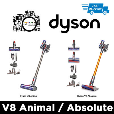 qoo10 dyson v8 animal absolute free shipping by dpex small appliances. Black Bedroom Furniture Sets. Home Design Ideas