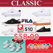 [FILA] ♥Get Qoo10 Coupon $10♥ Original Classic Kixx B / Kixx G / POKEMON Court Deluxe /  series