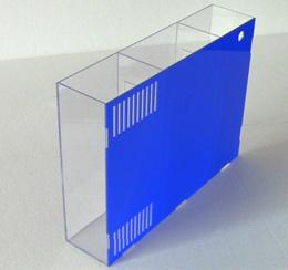 Zoog Acrylic fish tank back filter box fish tank back Filter Board Aquarium filter Equipment side fi