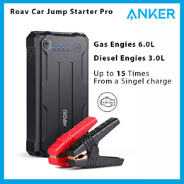 Roav [By Anker] Car Jump Starter Pro 800A Peak 12V 8000mAh Up To 6.0L Engines Portable Charger Power