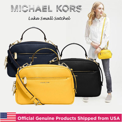 36d0f122fe  New Arrival Michael Kors Luka Small Satchel Official Genuine Products  Shipped from USA