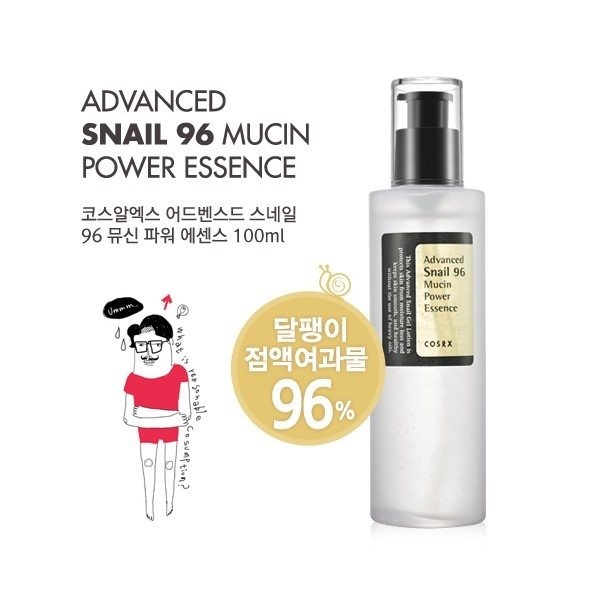 Cosrx Advanced Snail 96 Mucin Power Essence 100ml Deals for only Rp208.000 instead of Rp208.000