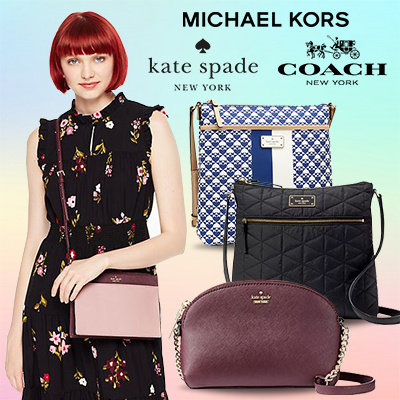 SPECIAL SALE COACH-KATE SPADE- MICHAEL KORS CROSSBODY Deals for only S$350 instead of S$350