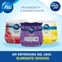 [PnG] Ambi Pur Air Refreshing Gel 180g / 6 Types / Freshener / Purify / Fragrance / Odours