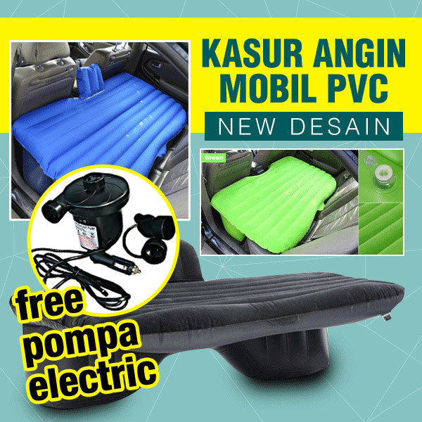 Kasur Mobil Matras angin Travel Inflatable Smart Car Bed Free Pompa Electric Deals for only Rp310.000 instead of Rp310.000