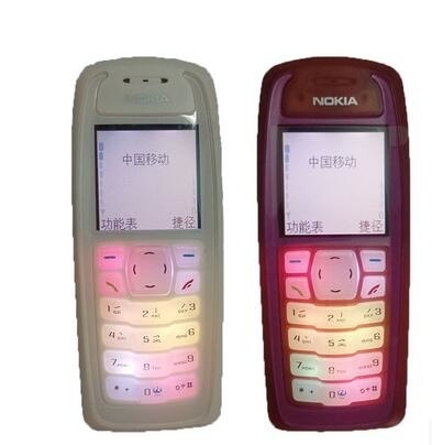 Genuine Nokia 3100 candybar color screen cheap mobile phone long standby  shatterproof elderly studen