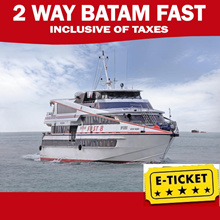 2 Way Batam Fast Ferry Tickets! Best Price! Taxes Included (Singapore to Batam Roundtrip!)