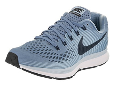 new style ff72f d70dc Nike Womens Air Zoom Pegasus 34 Running Shoe Blue (10)