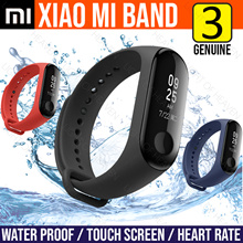 Original Xiaomi mi band 3 instant message callerID waterproof OLED touch screen Weather forecast