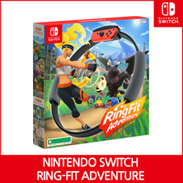 『Ready Stock』 Nintendo Switch Ring Fit Adventure