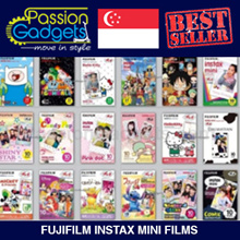 Fujifilm Instax Mini Films: Rainbow / One Piece / Princess / Stitch / Tinkerbell / Cath/ Sanrio