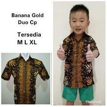 Couple Dadboy Pagando Batik Shirt Father and Son