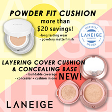 LANEIGE Powder Fit Cushion SPF50+ PA+++ *5 Shades* 10g