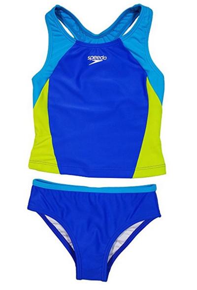 Speedo Girls Tie Dye Sky Two Piece Bikini Set