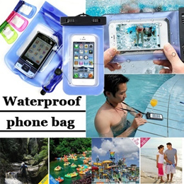 Galaxy S6 S6 Edge Note4 iphone6  plus Summer essential!PVC Waterproof Phone Case Underwater Phone Bag For Samsung galaxy S5 S3 S4 For 5 5S 5C for ipad Sony Xperia HTC All mobile Phone Watch ect