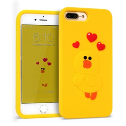 iphone7plus LINE Friends character love Twingkle case