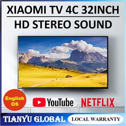Xiaomi TV 4C 32 Inch Television English Interface Smart TV 1GB+4GB 64-bit Processor Smart AI Suggest