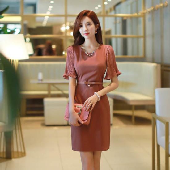 スタイルオンミエイミーリボンベルトSETワンピース スーツワンピース/ 韓国ファッション