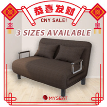 Foldable Sofa Bed with Metal Handles