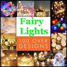 ★[FREE DELIVERY LED FAIRY LIGHTS] 120 Over Models-Local Delivery-Cheapest in Town-Walk in Store