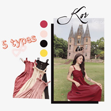 【BUY 3 FREE SHIP】KOREA  FASHION DRESSES/ ONE PIECE PLUS SIZE LOOSE FIT DRESS ICE SKIIL JUPES CULOTTE