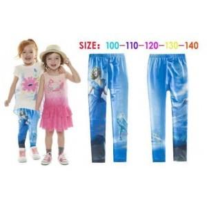 Qoo10 Legging Import Anak Biru Panjang Usia 3 S D 8 Tahun Kode L00560 Pakaian Anak