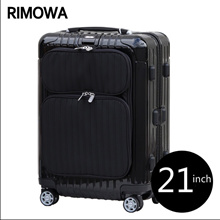 Rimowa Salsa Deluxe Hybrid  Suitcase Trunk Fashion black HS High-end business 37L21inch