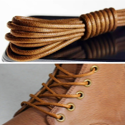 606b2a89efdb5 Qoo10 - 3mm 70cm Waxed Round Cord Dress Cotton Shoe Boot Laces ...