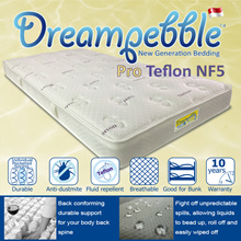 Dreampebble Pro Teflon NF5/ Individual Pocketed Coil/ Water Repellent/ Anti-dustmite/ Limited Ed.