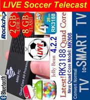 SG EVPAD 3 Max $0Fee 3GB 32GB ac WiFi Live tv cast Youtube Facebook live n  more Rss live vid