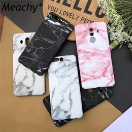 Meachy Marble Case For Huawei P10 Mate 10 Pro P20 Lite P20 Pro Phone Case For Funda Huawei P20 Mate