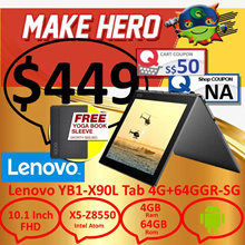 Lenovo|Yoga book-X90L|TAB 4G+64GGR-SG|Android|1 Year Local Warranty