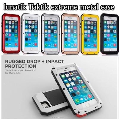 online retailer 182ec a939b Ultra-thin Metal lunatik Taktik extreme Metal Bumper case for Galaxy iPhone  6/6s/6 Plus/6s Plus/5s/5c/4g/Note 4/Note 5/S6/edge/S5/S4/Nexus ...
