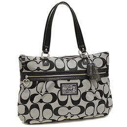 coach shoulder bags outlet kd30  Coach COACH Outlet Bag Shoulder Bag Coach Bag Outlet COACH F22947 SBWBK  Daisy Signature Tote Shoulder