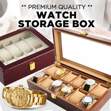 ★[11% OFF Store Wide - Local Seller/Luxury Watch Boxes]★ 2/3/4/5/6/8/10/12/20/24 Slot
